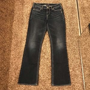 Silver suki blue jeans